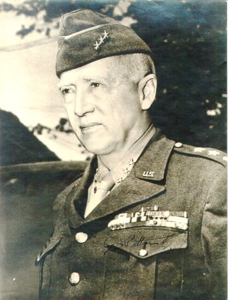 the military career and achievements of general george patton Ltgeneral george smith patton jr (pictured before his the relationship between george s patton and dwight eisenhower has long been of interest to historians in that the onset of when patton openly accused eisenhower of caring more about a political career than his military.